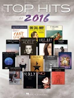 Top Hits of 2016 Partition Pop / Rock - laflutedepan