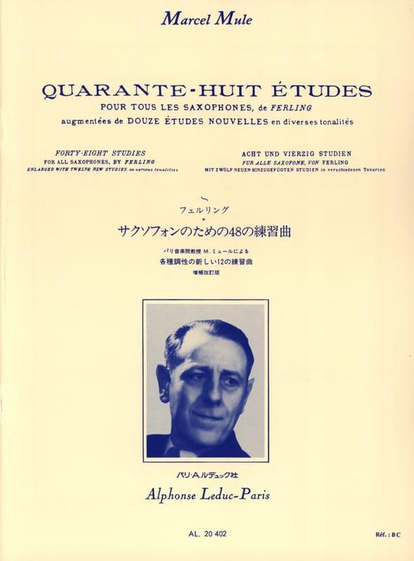 48 Etudes - Nouvelles Edition Par Marcel Mule - laflutedepan.com