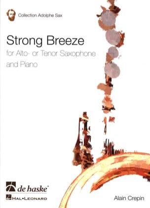 Strong breeze Alain Crepin Partition Saxophone - laflutedepan