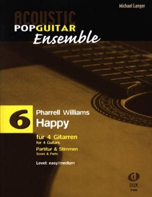 Happy - Acoustic pop guitar ensemble N°6 laflutedepan