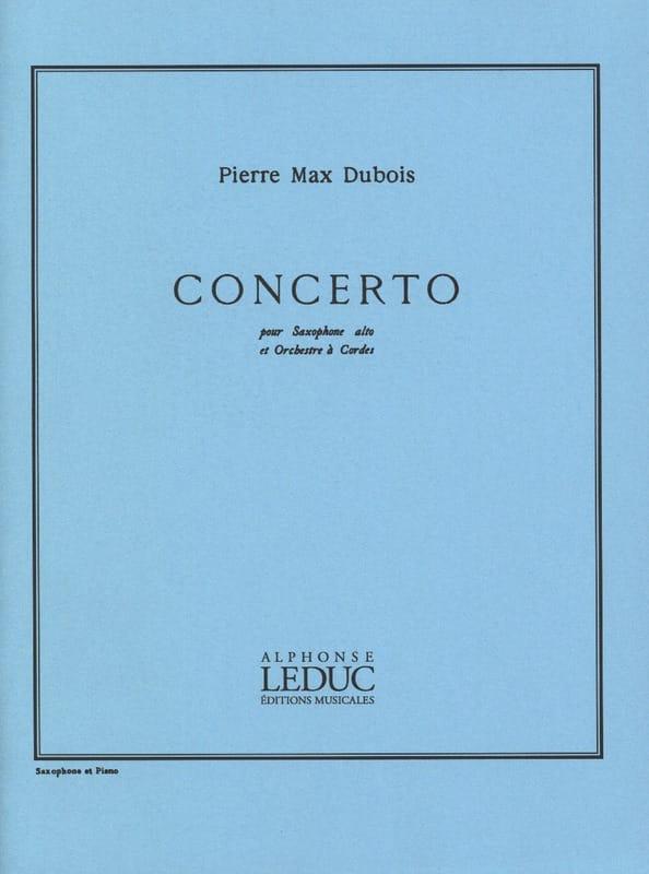 Concerto - Pierre-Max Dubois - Partition - laflutedepan.com