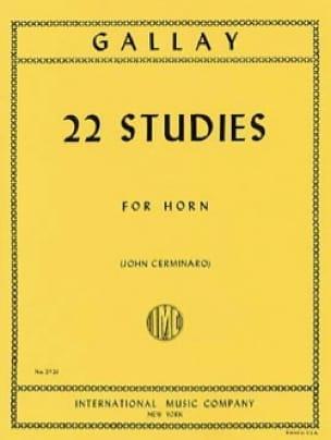 22 Studies - Jacques-François Gallay - Partition - laflutedepan.com