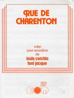 Rue de Charenton - Louis Corchia & Toni Jacque - laflutedepan.com