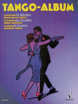 Tango- Album Partition Accordéon - laflutedepan