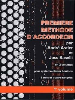 Premiere méthode d'accordéon volume 1 laflutedepan