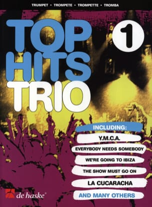 Top Hits Trio Volume 1 Partition Trompette - laflutedepan