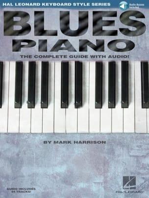 Blues Piano Mark Harrison Partition Jazz - laflutedepan