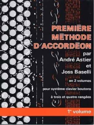 Premiere méthode d'accordéon volume 1 - laflutedepan.com