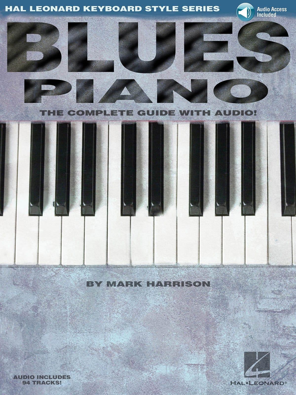Blues Piano - Mark Harrison - Partition - Jazz - laflutedepan.com
