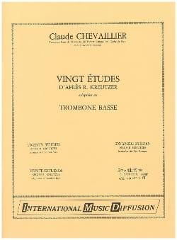 20 Etudes D'après Kreutzer Claude Chevaillier Partition laflutedepan