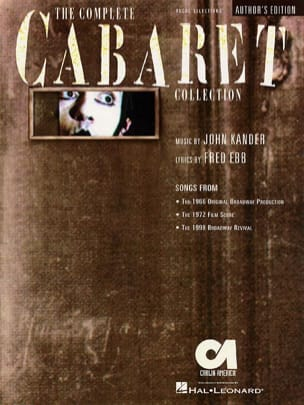 John Kander - The Complete Cabaret Collection - Partition - di-arezzo.co.uk