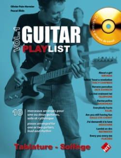 Guitar Playlist Volume 1 Partition Guitare - laflutedepan