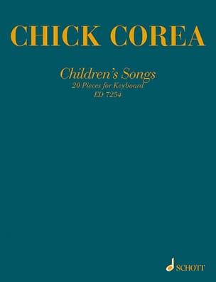 Children's Songs Chick Corea Partition Jazz - laflutedepan