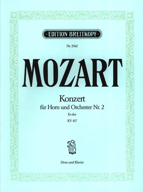 Concerto pour Cor N° 2 KV 417 - MOZART - Partition - laflutedepan.com