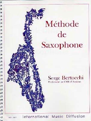 Méthode de Saxophone - Serge Bertocchi - Partition - laflutedepan.com