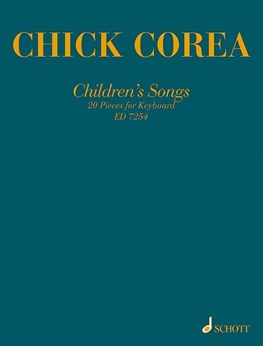 Children's Songs - Chick Corea - Partition - Jazz - laflutedepan.com