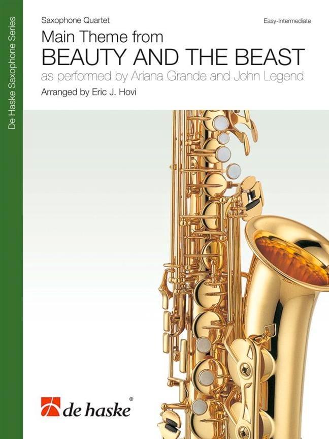 La Belle et la Bête - Quatuor de Saxophones - laflutedepan.com