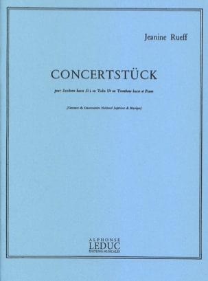 Concertstück Jeanine Rueff Partition Tuba - laflutedepan