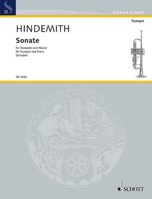 Sonate HINDEMITH Partition Trompette - laflutedepan