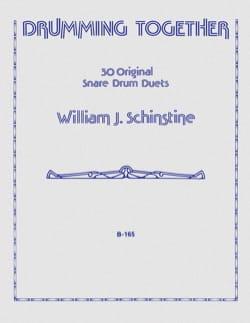 Drumming Together William J. Schinstine Partition laflutedepan