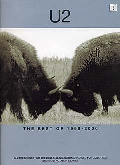 The Best Of 1990-2000 U2 Partition Pop / Rock - laflutedepan