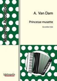 Princesse Musette Albert Van Dam Partition Accordéon - laflutedepan