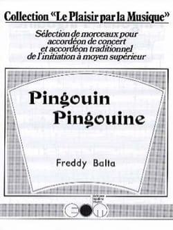 Pingouin Pingouine Freddy Balta Partition Accordéon - laflutedepan