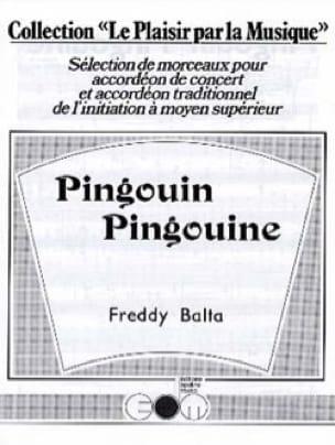 Pingouin Pingouine - Freddy Balta - Partition - laflutedepan.com