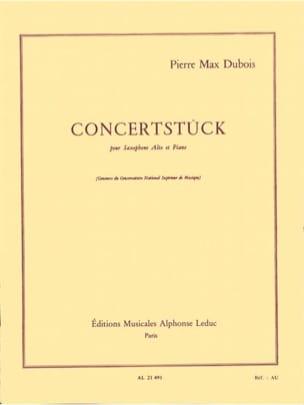 Concertstück Pierre-Max Dubois Partition Saxophone - laflutedepan