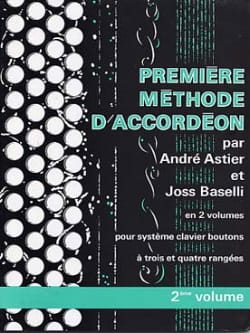 Premiere Méthode D' Accordéon Volume 2 laflutedepan