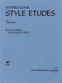 International Style Etudes Volume 1 Alice Gomez Partition laflutedepan
