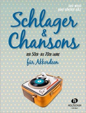 Schlager & Chansons - Partition - Accordéon - laflutedepan.com