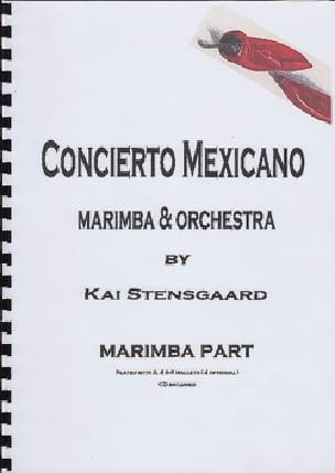 Concierto Mexicano - Marimba Part - Kai Stensgaard - laflutedepan.com