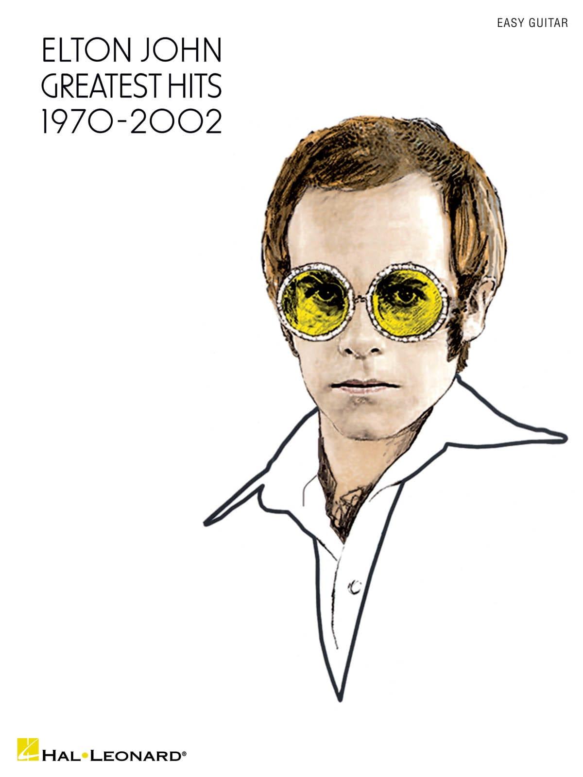 Greatest Hits 1970-2002 - Easy Guitar - Elton John - laflutedepan.com