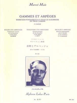 Gammes Et Arpèges Volume 3 Marcel Mule Partition laflutedepan