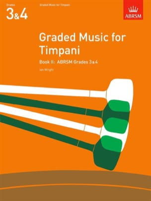 Graded Music For Timpani Volume 2 Ian Wright Partition laflutedepan