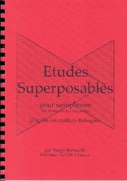 Etudes Superposables Serge Bertocchi Partition laflutedepan
