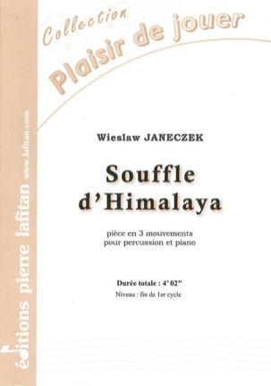 Souffle d'Himalaya Wieslaw Janeczek Partition laflutedepan