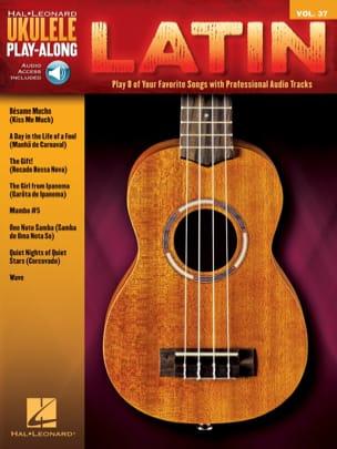 Ukulele Play-Along Volume 37 - Latin Partition laflutedepan
