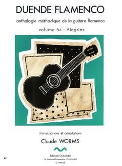 Claude Worms - Duende Flamenco Volume 5 To: Alegrias - Partition - di-arezzo.com