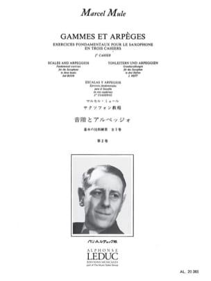 Gammes Et Arpèges Volume 2 Marcel Mule Partition laflutedepan