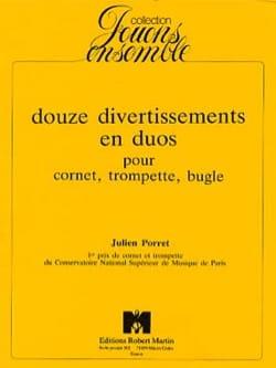 Julien Porret - 12 Entertainment In Duos - Partition - di-arezzo.com