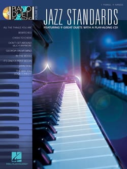 Piano Duet Play-Along Volume 30 - Jazz standards laflutedepan