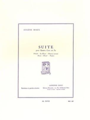 Suite Eugène Bozza Partition Cor - laflutedepan