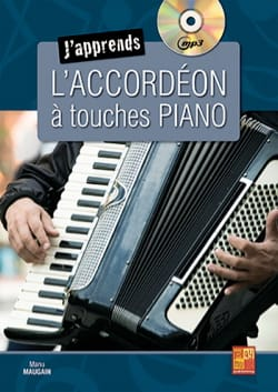 J'apprends l'accordéon à touches piano Manu Maugain laflutedepan