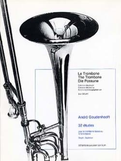 32 Etudes André Goudenhooft Partition Trombone - laflutedepan