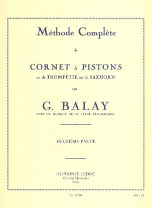 Méthode Complète Volume 2 Guillaume Balay Partition laflutedepan