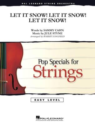 Let It Snow! Let It Snow! Let It Snow! - Easy Pop Specials For Strings - laflutedepan.com