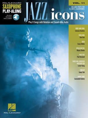 Saxophone Play-Along Volume 11 - Jazz Icon Partition laflutedepan