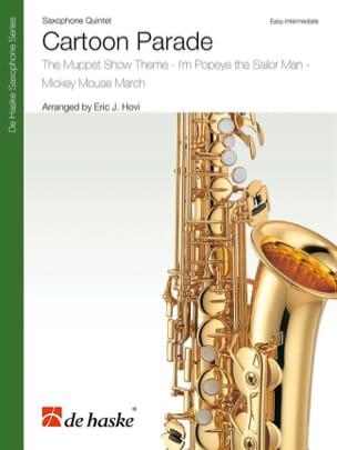 Cartoon Parade - Partition - Saxophone - laflutedepan.com